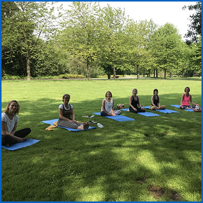Yoga & Meditatie outdoor lifecoaching